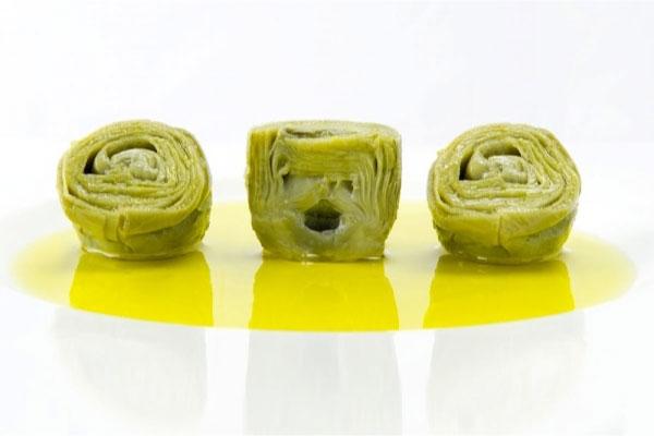 alcachofas en aceite de oliva