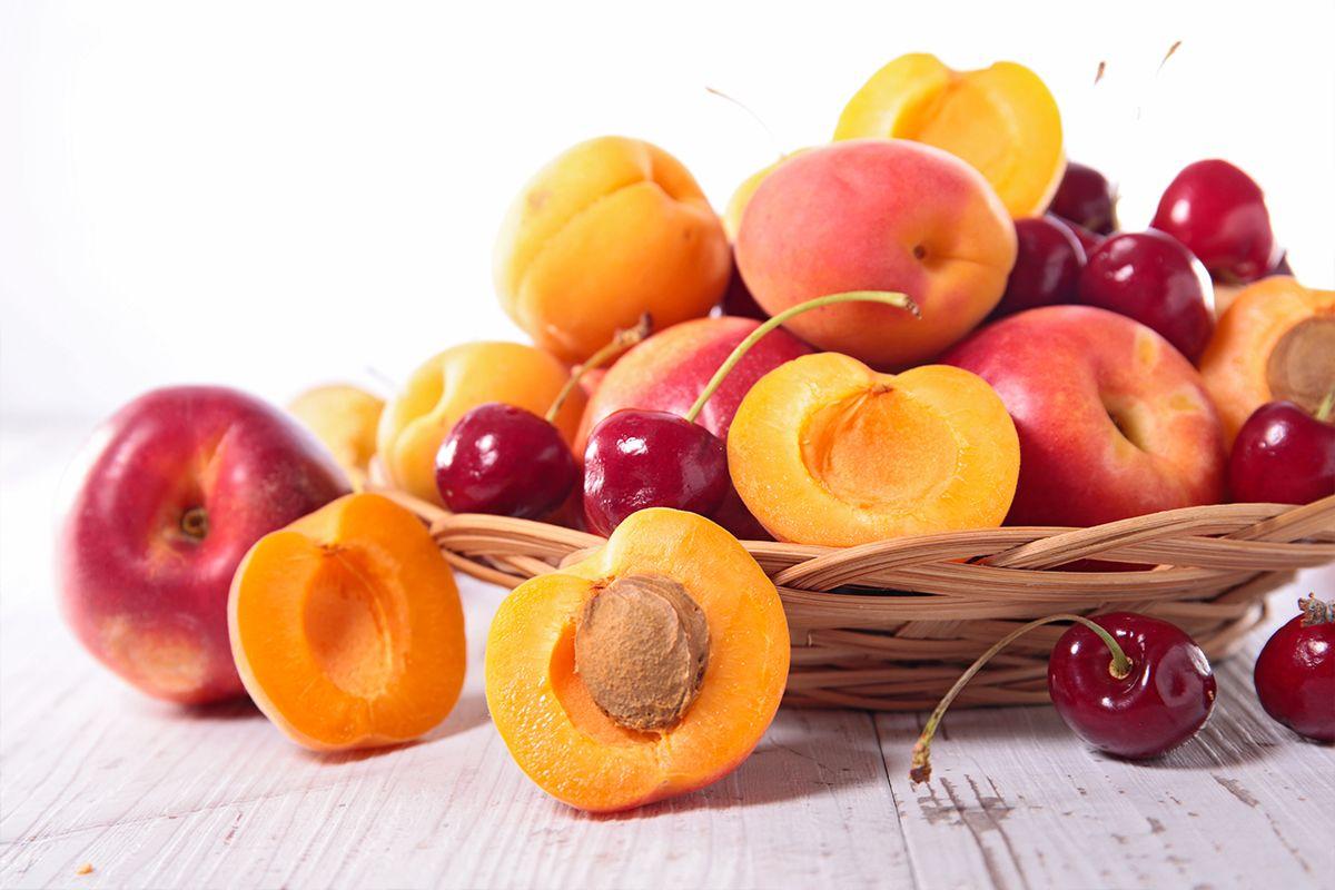 beneficios de la fruta de hueso