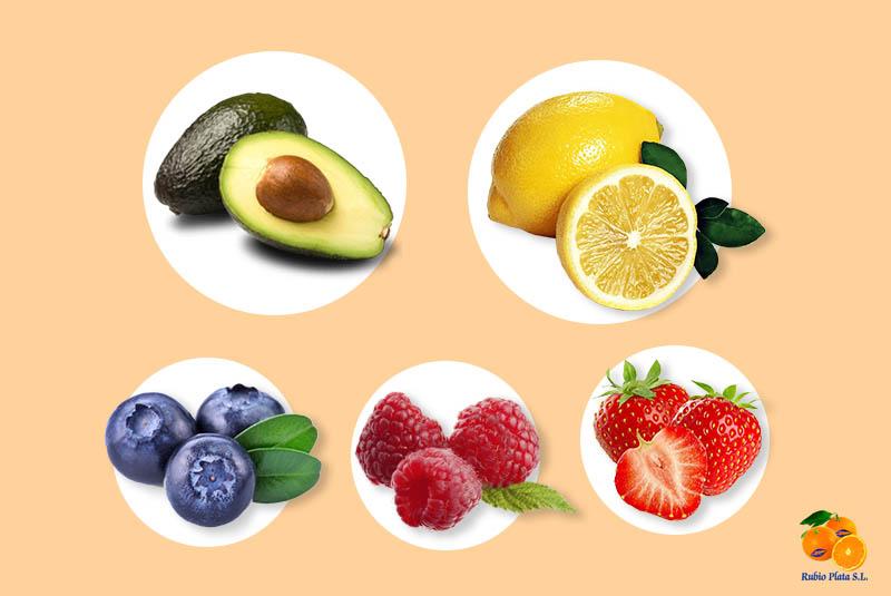frutas con menos azucar